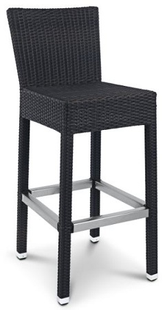 Turino Indoor or Outdoor Wicker Stool