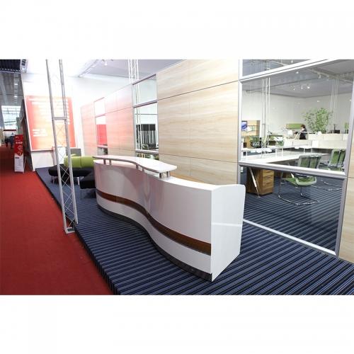 Sleek Reception Counter Desk