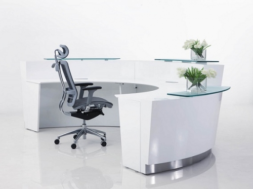 Suzette Reception Counter Desk