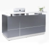 Urban Reception Counter Desk, Graphite