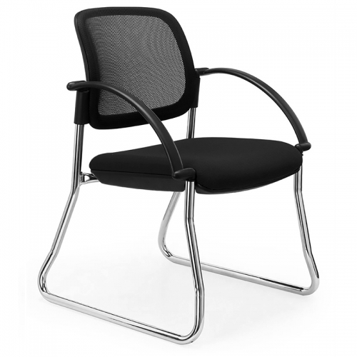 Bologne Mesh Back Visitor Chair