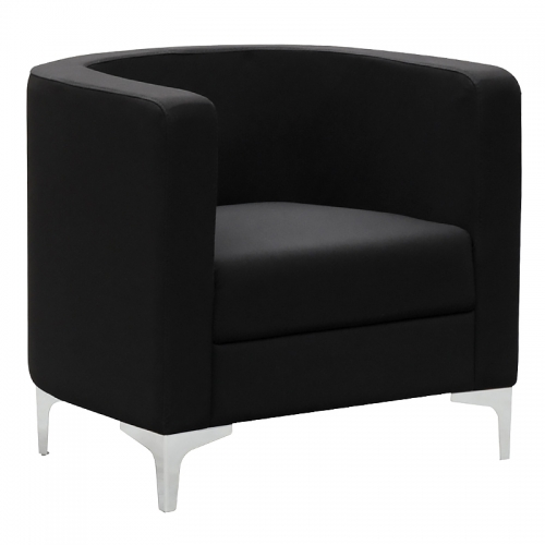 Dima Tub Chair, Black