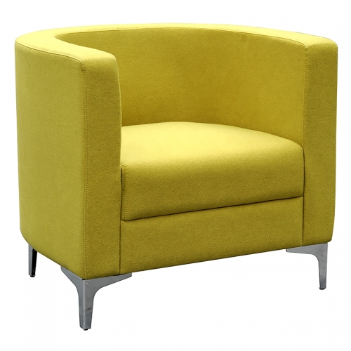Dima Tub Chair, Lime