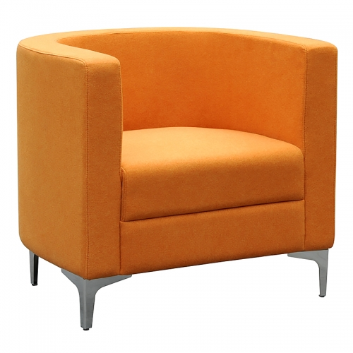 Dima Tub Chair, Orange
