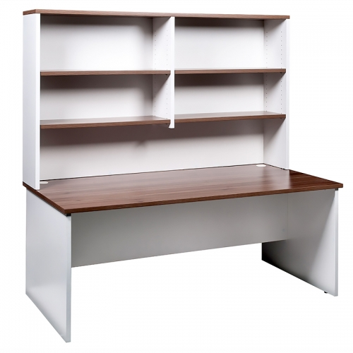 Martina Straight Desk and Open Hutch Unit