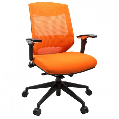 Prima Pro High Back Chair, Orange