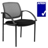 Jenson Mesh Back Visitor Chair Available in 6 Mesh Back Colours