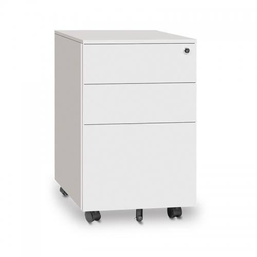 Tuff Metal Mobile Drawer Unit, White, Bulk Purchase 36 Units