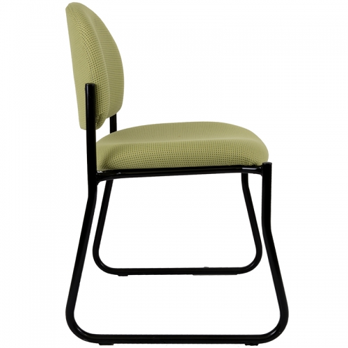 Fitzy Sled Frame Visitor Chair, Available in 17 Fabric Colours