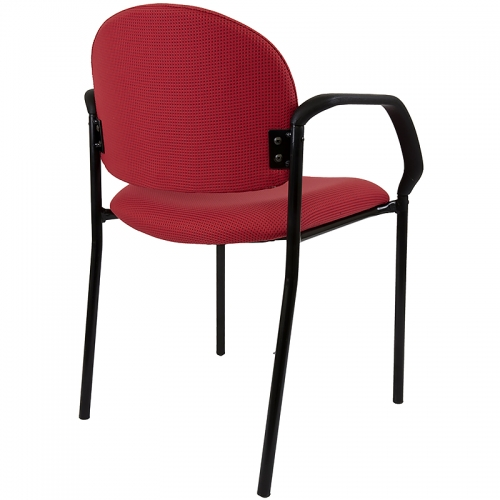 Fitzy 4 Leg Visitor Chair, Available in 17 Fabric Colours