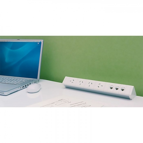 Infinity Desk Top Power Rail
