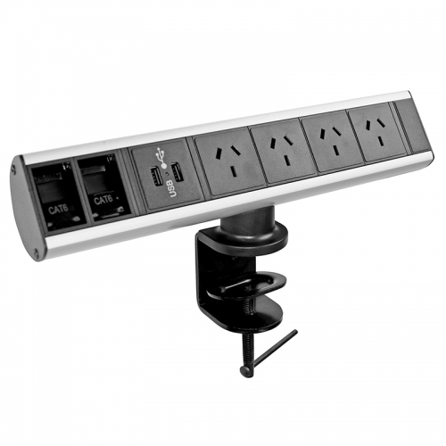 Whiz Desk Top Power Rail