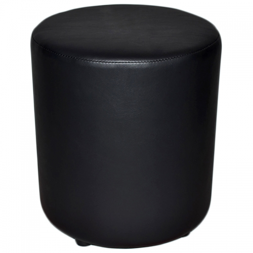 Compact Round Ottoman