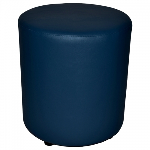 Compact Round Ottoman