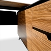 Classic Executive Desk with Attached Return