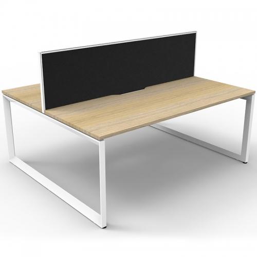 Effect Loop Leg Back to Back Desk System