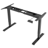 Versatile Pro Electric Push Button Sit Stand Height Adjustable Desk
