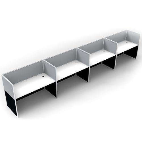 Media Inline Desk System