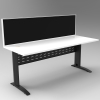 Modena Desk with Attached Return