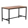 Basso Steel Framed High Bar Table