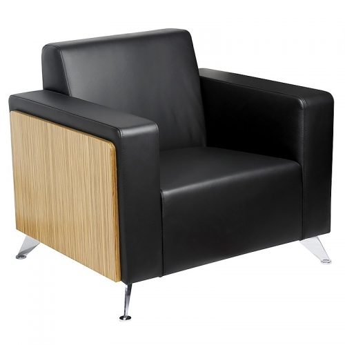 Classic Executive Leather Lounge Chair