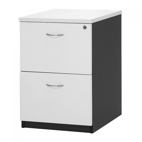 Deluxe 2 Drawer Filing Cabinet