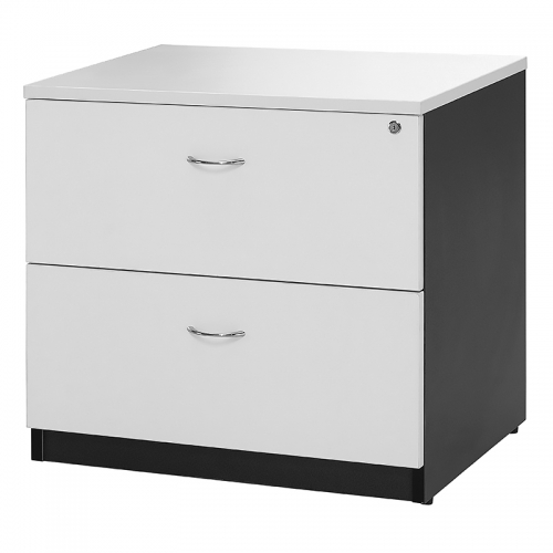 Deluxe 2 Drawer Lateral Filing Cabinet
