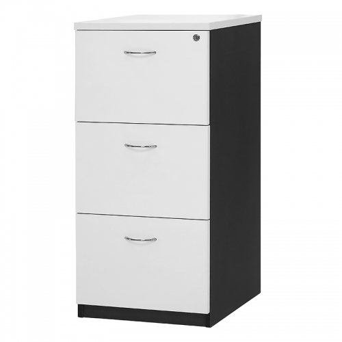 Deluxe 3 Drawer Filing Cabinet