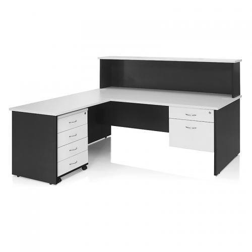 Deluxe Desk with Reception Cowl