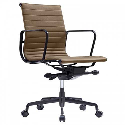 Glebe Tan on Black Chair