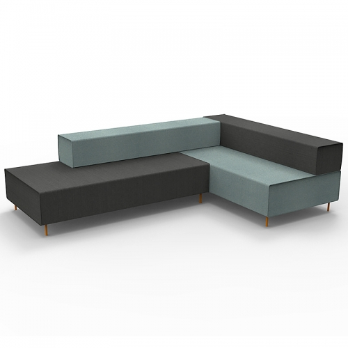 Jive Modular Seating System - Corner Unit