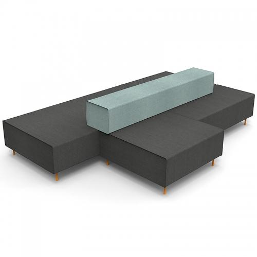 Jive Modular Seating System - Island Unit