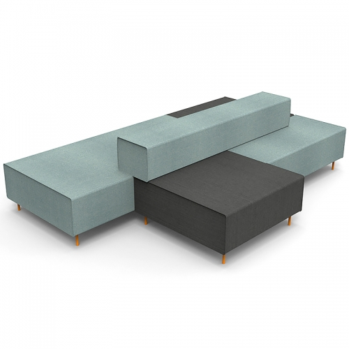Jive Modular Seating System - Island Unit