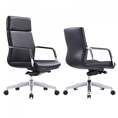 Luxe Leather High Back Executive Chair