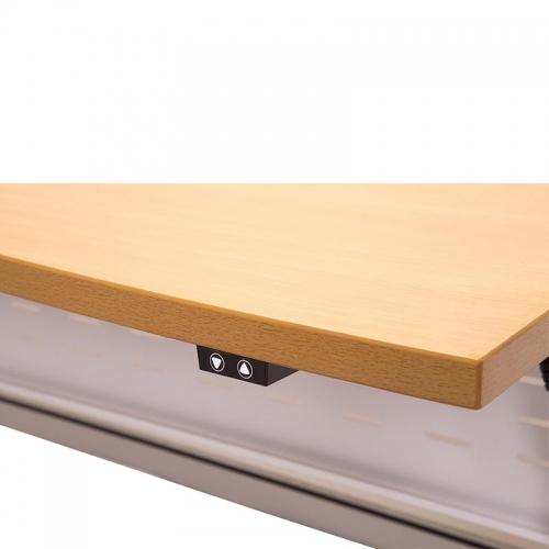 Modena Electric Height Adjustable Corner Workstation