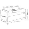Toorak 2 Seater Lounge