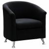 Beta Tub Chair, Black Fabric