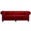 Chesterfield Lounge Range, Red Velvet