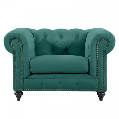 Chesterfield Lounge Range, Emerald Velvet
