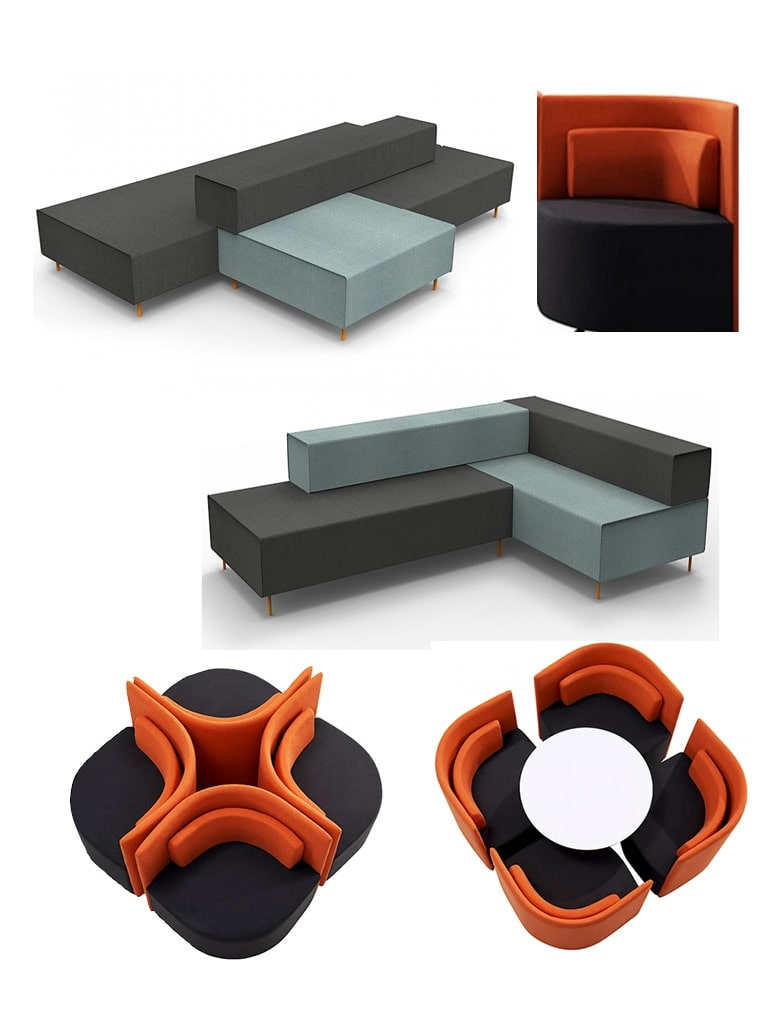 Modular Dynamic - Reception Area - Ikcon Desks and Office Chairs
