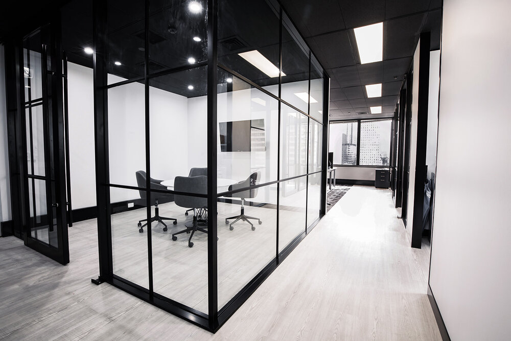 Renovated Office With Proper Furniture